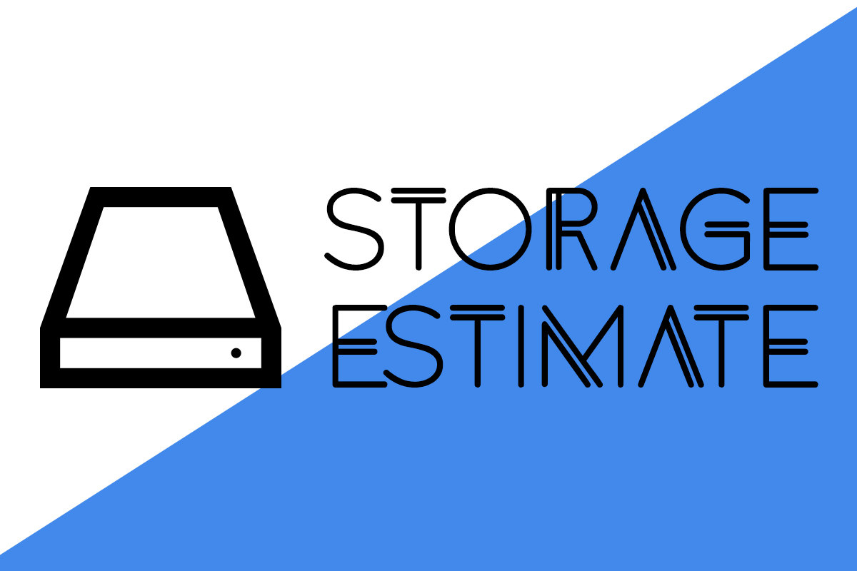 Storage Estimate